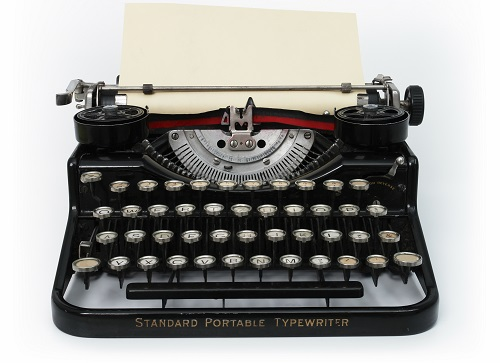 Type writer front_500